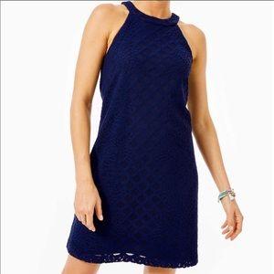 Lilly Pulitzer Rayanne Lace Shift Dress Sz XS EUC